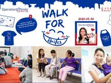 Gaga Tsang is fundraising for 2020 WALK FOR SMILES