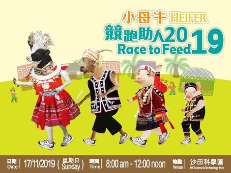 Heifer Race to Feed 2019