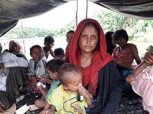 Fleeing Myanmar