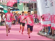 KPMG Pink Heels  is fundraising for Hong Kong Hereditary Breast Cancer Family Registry- Pink Run HK