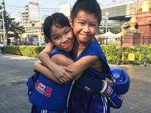 Heyden & Moni is fundraising for Energy Fight 2017 (Round 2)  Kickboxing Competition