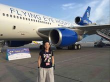 """Annette is fundraising for """"Seeing is Believing""""- Orbis"""