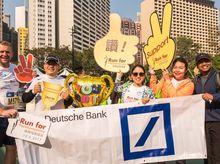 Team DB 正為「香港殘疾人奧委會暨傷殘人士體育協會」籌款