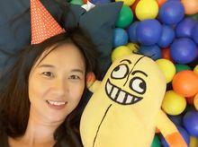 Priscilla Wong 正為「香港防癌會」籌款