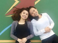Saria Chan & Joanne Leung 正為「香港防癌會」籌款