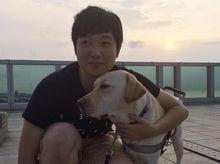 Walter Tsui 正為「香港殘疾人奧委會暨傷殘人士體育協會」籌款
