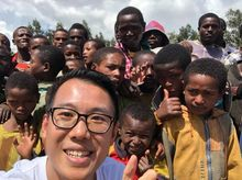 """Kelvin is fundraising for UNHCR : """"2 BILLION KILOMETRES TO SAFETY"""" for refugee shelters"""