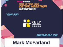 Mark McFarland is fundraising for KELY Support Group
