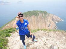 Meiling Yeung 正為「香港防癌會」籌款