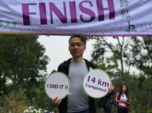 Simon Yau  is fundraising for SPHC's Hike for Hospice Month - on April