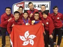 K Lui 正為「香港殘疾人奧委會暨傷殘人士體育協會」籌款