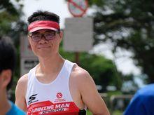 Alan Leung 正為「香港防癌會」籌款