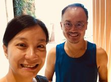 Christopher & Maria is fundraising for THE STANDARD CHARTERED HONG KONG MARATHON 2021