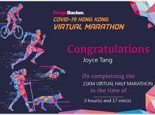 Gummi Loklok Family is fundraising for FringeBacker COVID-19 Hong Kong Virtual Marathon