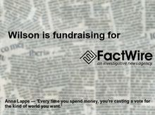 Wilson Shum is fundraising for FactWire - an investigative news agency founded by the Hong Kong public