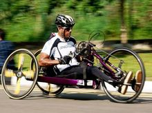 DreamRide: a 2,500 KM handbike ride raising funds for IHKSports and Underprivileged Students