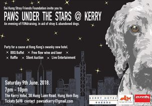 Paws Under the Stars @ Kerry  (Sai Kung Stray Friends Foundation)