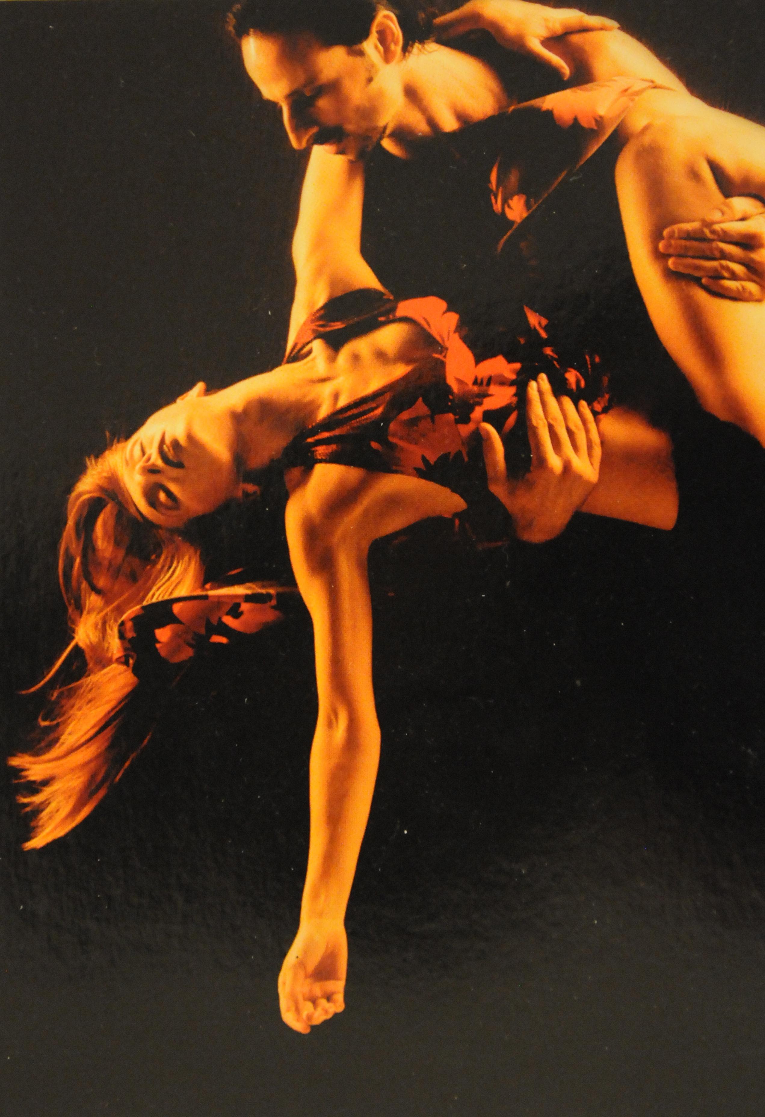 Argentine Tango postcard